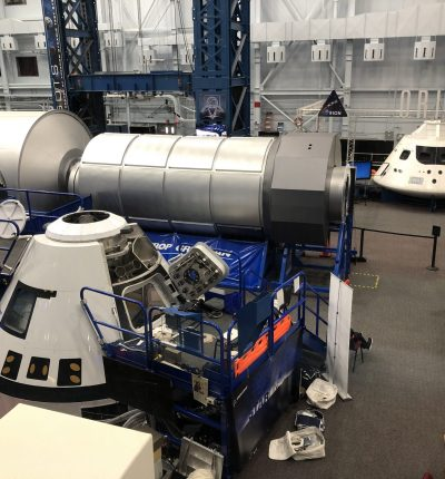 Boeing Starliner at Johnson Space Center